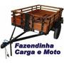 Projeto Completo Fabricação Carretinha Carga, Frete Grátis