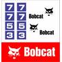 Kit Adesivos Bobcat 7753 - Decalx