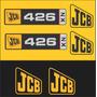 Kit Adesivos Jcb 426 - Decalx