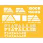 Kit Adesivos Fiatallis 1500b - Decalx