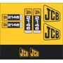 Kit Adesivos Jcb 214e - Decalx