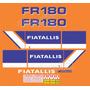Kit Adesivos Fiatallis Fr 180n - Decalx