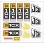 Kit Adesivos Jcb 1cx - Decalx