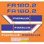 Kit Adesivos Fiatallis Fr 180.2 - Decalx
