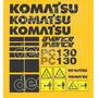 Kit Adesivos Komatsu Pc130 Avance - Decalx