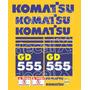 Kit Adesivos Komatsu Gd555 - Decalx