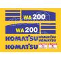 Kit Adesivos Komatsu Wa200 - Decalx