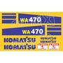 Kit Adesivos Komatsu Wa470 - Decalx