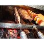 Grill Comércio 27 Espetos Giratórios Em Aço Inox