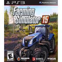 Farming Simulator 15 / 2015 (em Português) - Ps3 *frete R$ 9
