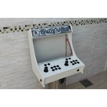 Gabinete Fliperama Pc Ps2 Sanwa Clone Jogos Sem Monitor Agil