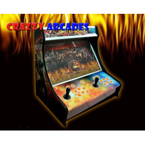 Mini Maquina Fliperama E Pinball Multijogos Arcade Mame