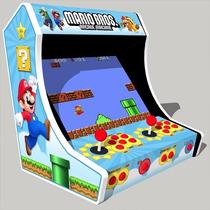 Mini Arcade, Bartop, Fliperama De Bar, Planta Envio Gratis
