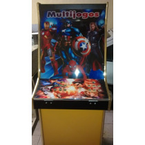 Gabinete Fliperama Arcade Multijogos