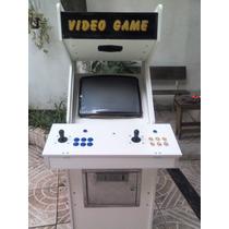 Máquina Fliperama Arcade Multi Jogos Gabinete Novo