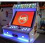 Mini Arcade Fliperama Bartop Medidas E Corte Cnc + 5 Brindes