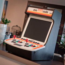 Bartop Mini Arcade Fliperama - Escala 1:1 - Frete Grátis