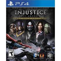 Injustice: Gods Among Us - Ultimate Edition (português) Ps4