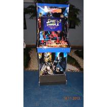 Máquina Multijogos Adesivada Lcd 22 Arcade Sob Encomenda