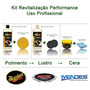 Kit Profissional P/ Revitalização Automotiva Meguiares.