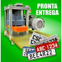 Prensa Hidráulica Para Placas Automotivas 40t