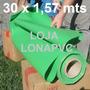 Lona Verde Claro Pvc Tatame 30x1,57 Ringue Academia Proteção