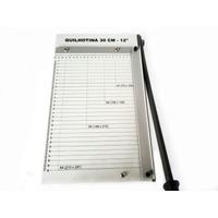 Guilhotina A-4 P/papel Plastico Cartão, Corta Até 10fls 75gr