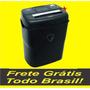 Fragmentadora De Papel 10 Folhas Corta, Cartão Dvd, 110v