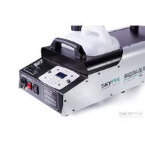 Máquina De Fumaça 3000w Dmx - Com Controle Remoto Sem Fio