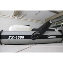 Máquina De Fumaça Tecport Fx - 4000 Perfeito Estado