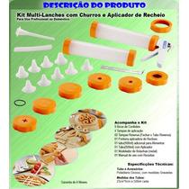 Fabrica Churros Biscoito Confeitar Nhoque Rosquinha 19 Pcs