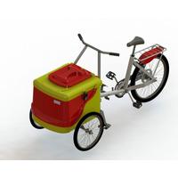 Carrinho Para Picolé Triciclo L400