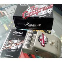 Pedal Marshall Ed1 The Compressor Novo Na Caixa