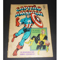 Capitão América Nº109 Ed. Abril 06/1988 Usado Em Bom Estado.