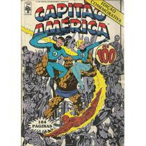 Gibi Capitão America #100 - Abril - Usado - Bonellihq