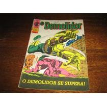 O Demolidor 1ª Série Nº 22 Janeiro /1971 Editora Ebal