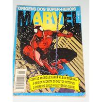 Origem Dos Super Heróis Marvel Nº 1 H. Aranha Namor. Hulk.