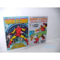 2 Gibis Mini Série 4 Edições Homem De Ferro Nº2 E 4- 1988 Fj