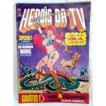 Gibi Heróis Da Tv Nº 50 C/ Figurinhas Original Ótima A
