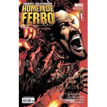 Marvel Millennium Homem De Ferro Minissérie Panini