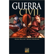 Guerra Civil Livro Panini Mark Millar
