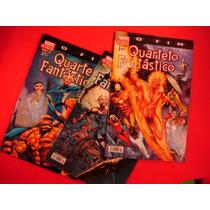 Cx I 11 Mangá Hq Dc Quarteto Fantastico O Fim Ediçao 3 Vol.