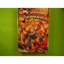 Cx I 19 Mangá Hq Dc Herois Renascem Capitão America Vol - 2