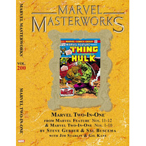 Marvel Masterworks Marvel Two-in-one Vol.1 Hc Luxo Novo