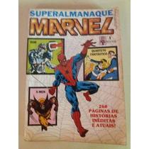 Superalmanaque Marvel N°01 Ed.abril Excelente Estado