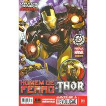 Homem De Ferro & Thor Nro 1 (nova Marvel)