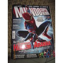 Revista Mundo Dos Super Heróis Nº 34 - Homem Aranha
