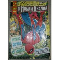 Gibi Almanaque O Homem Aranha 1972 - Editora Brasil-américa