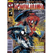 Hq - O Melhor Do Homem Aranha Nº 01 Ano 1996
