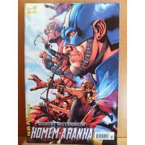 Homem-aranha Marvel Millennium # 47 Panini Bonellihq Cx 100